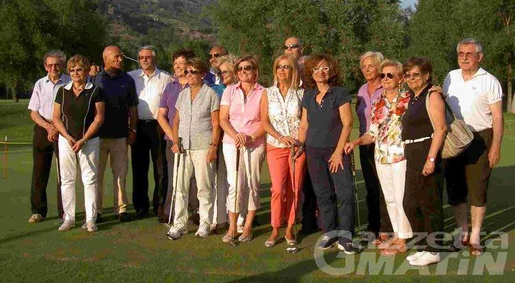 Golf: la giornata del Panathlon VdA al Les Iles