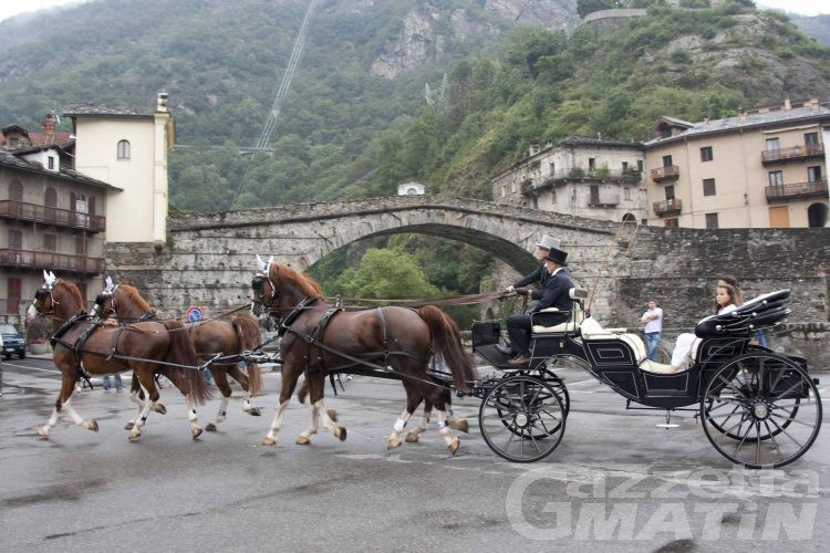 Pont-St-Martin: decolla la patronale di San Lorenzo
