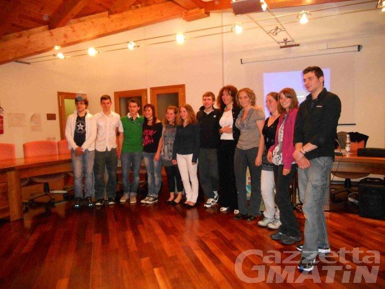 Viaggio premio a Roma per 12 ragazzi di Torgnon e Fontainemore