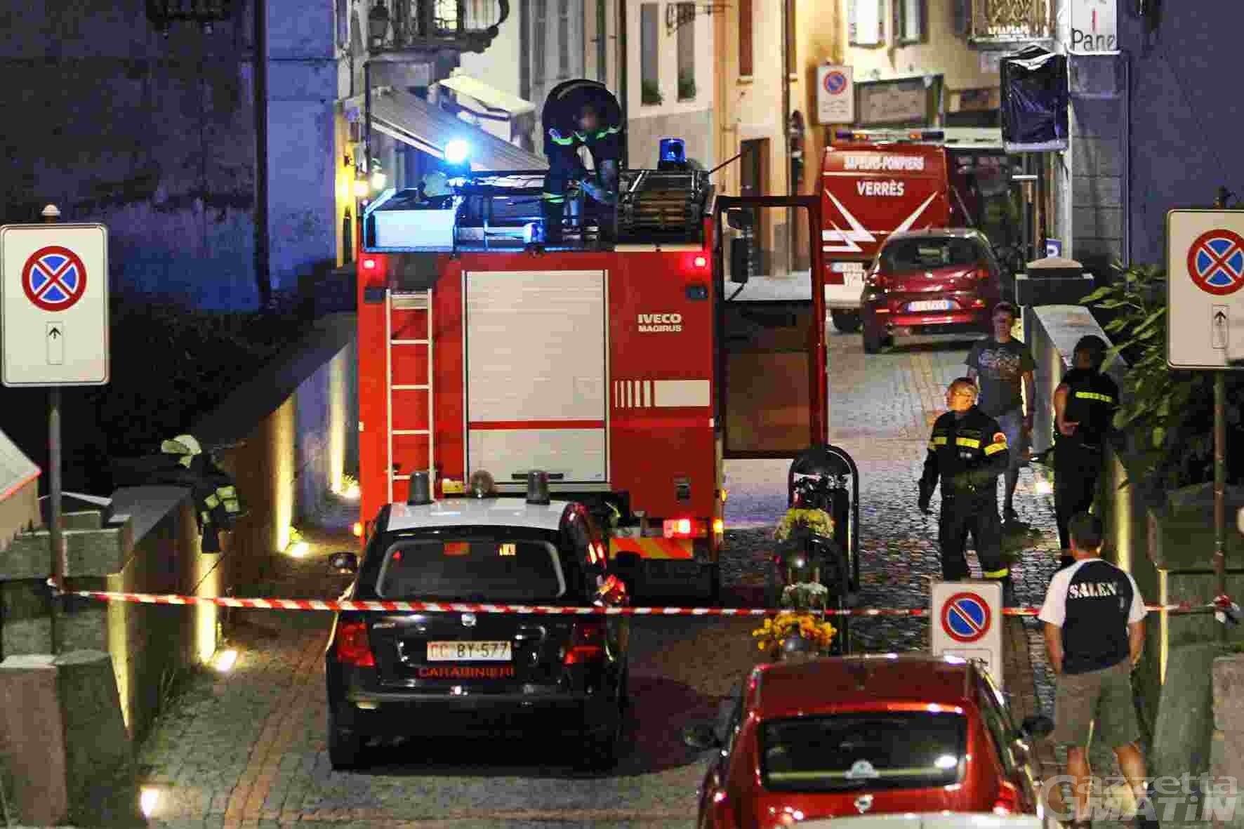 Suicidio o incidente: mistero a Verrès