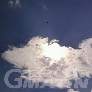 Aosta: «ho fotografato un ufo in regione Tzambarlet»
