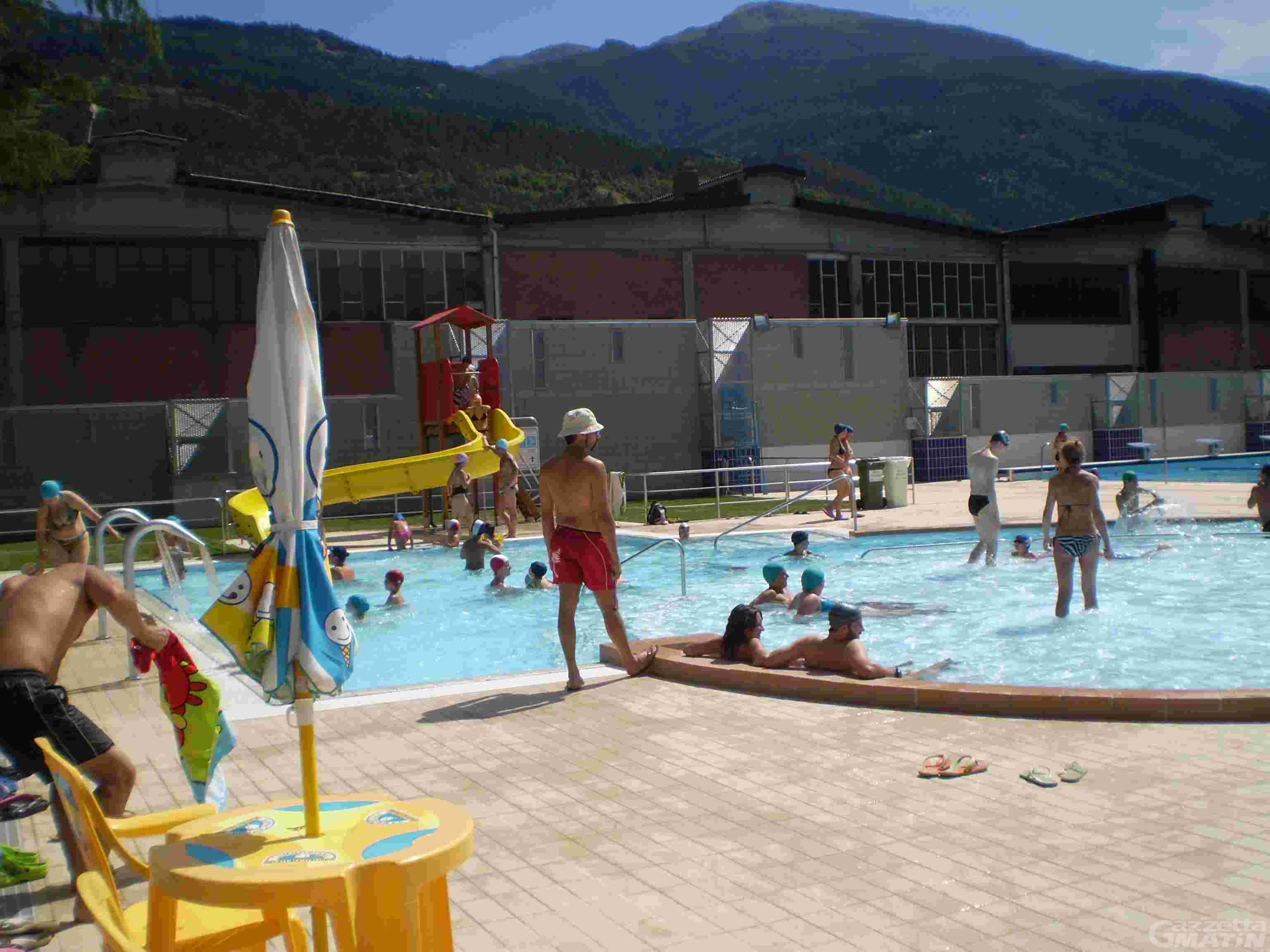 Aosta: riapre domani, venerdì 31 maggio, la piscina scoperta