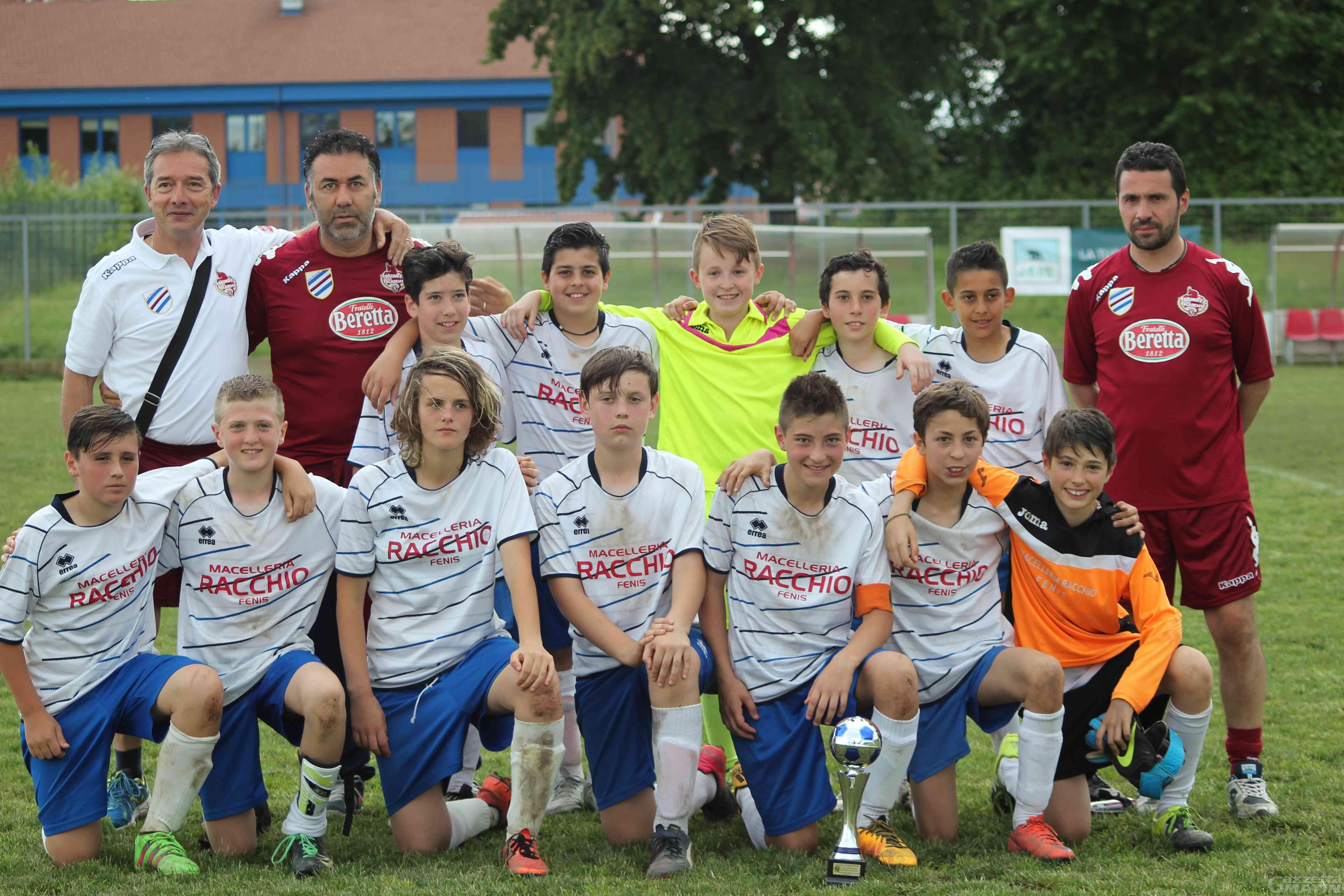 Calcio giovanile: il Fenusma secondo a Biella