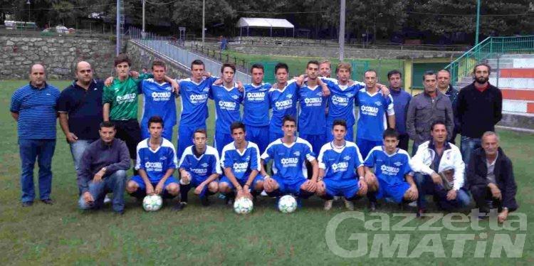 Calcio: l'Hône Arnad Juniores sconfitto dal Montanaro