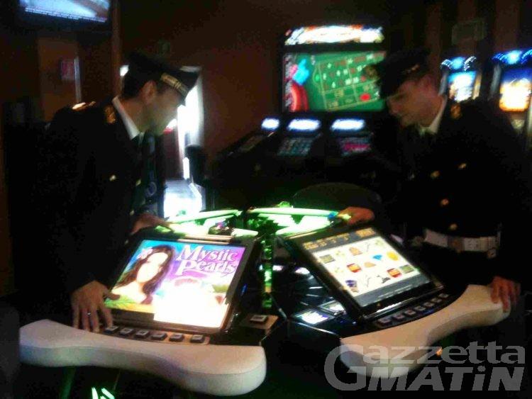Gioco d'azzardo: tre denunce in bassa Valle