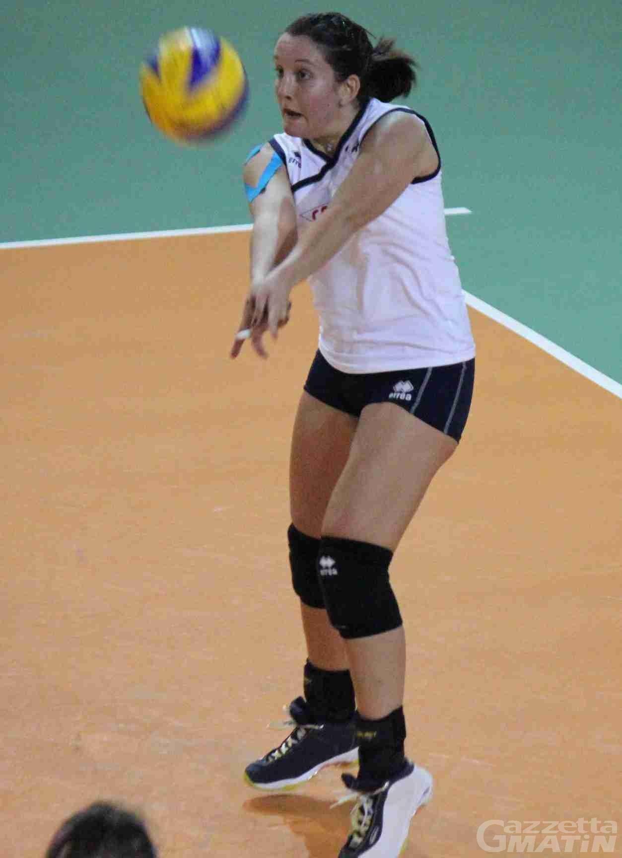 Volley: torna a vince la Cogne Acciai Speciali