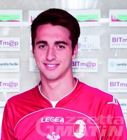 Calcio: anche Francesco Fiore nella rosa del Vallée d'Aoste