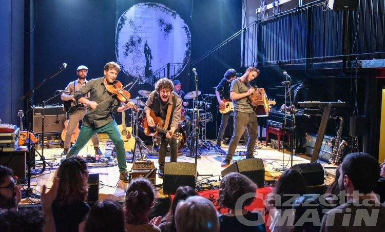 Musica: L'Orage travolge Milano e La Scighera