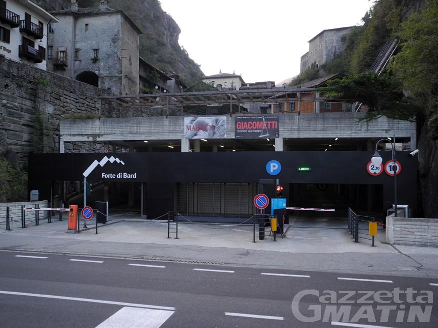 Bard: parcheggio sotterraneo aperto anche di notte