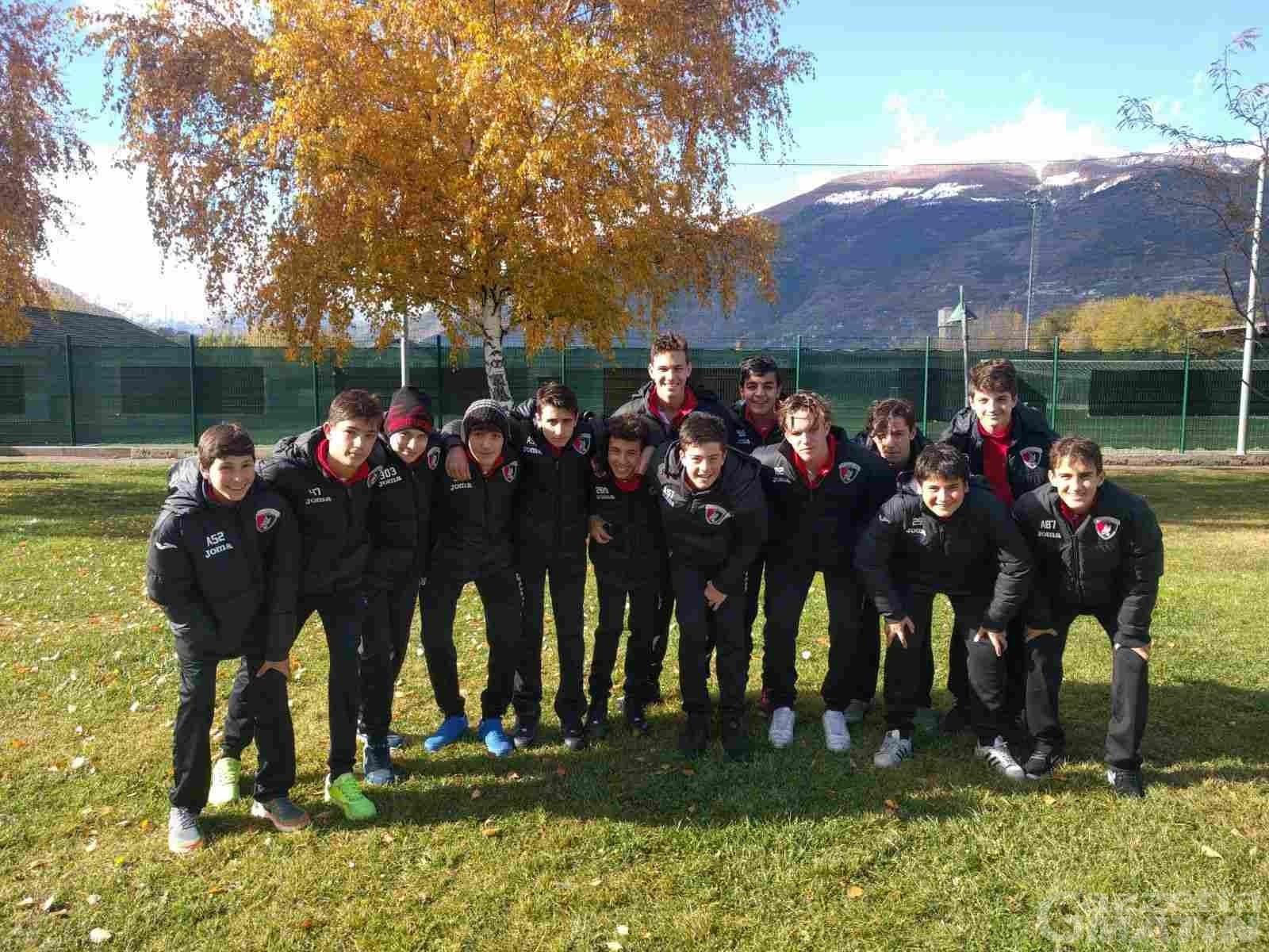 Calcio giovanile: l'Aygreville accede ai regionali