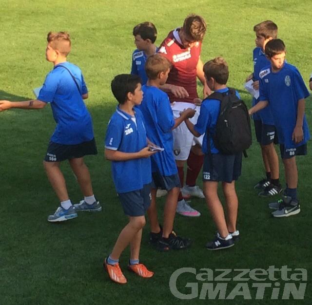 Calcio: il Toro manda in tilt il Brunod e travolge la Pro Vercelli