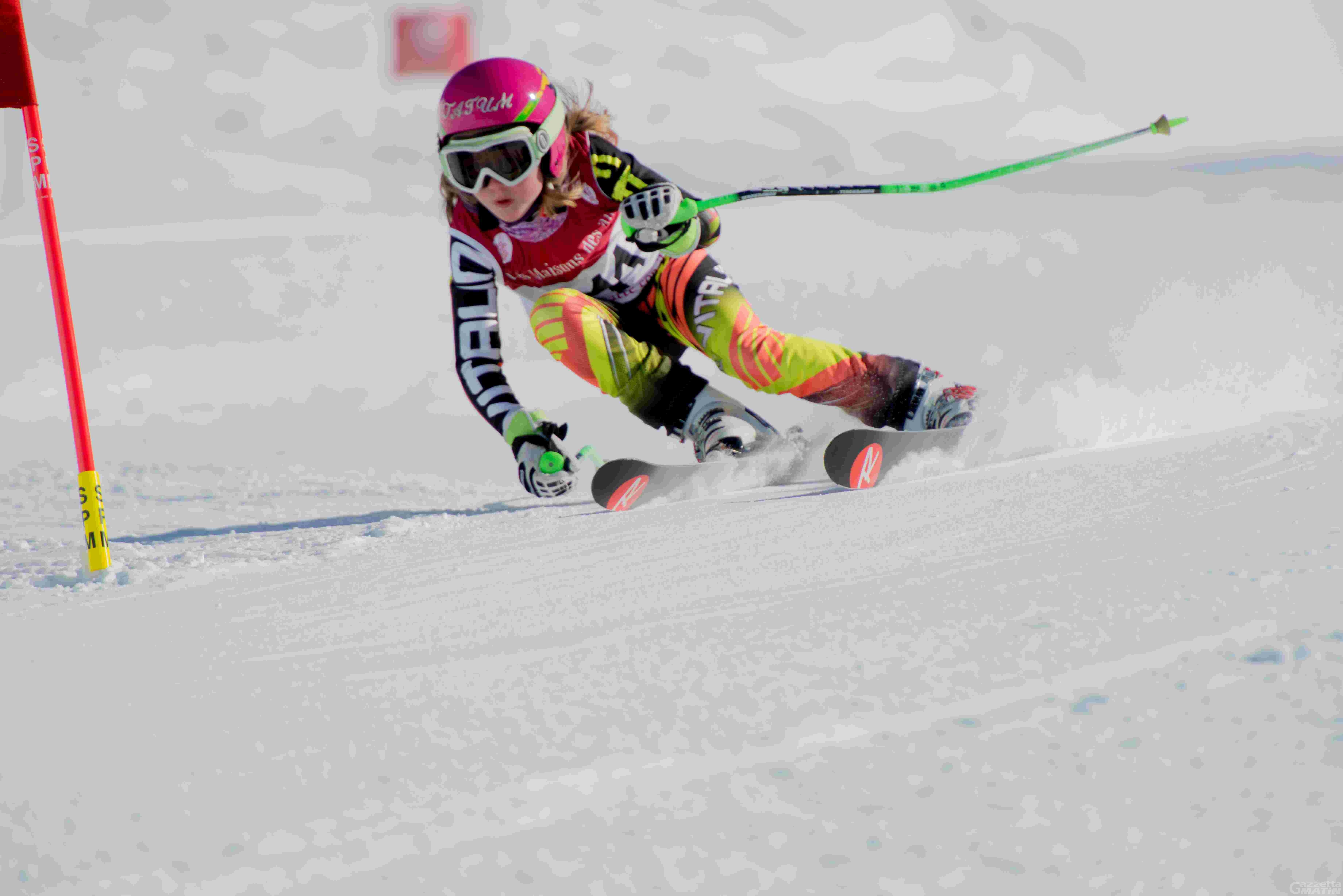 Sci alpino:  Tatum Bieler trionfa nello lo Slalom internazionale all'Abetone