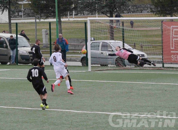 Calcio: il Pont Donnaz Hône Arnad sbanca Trino