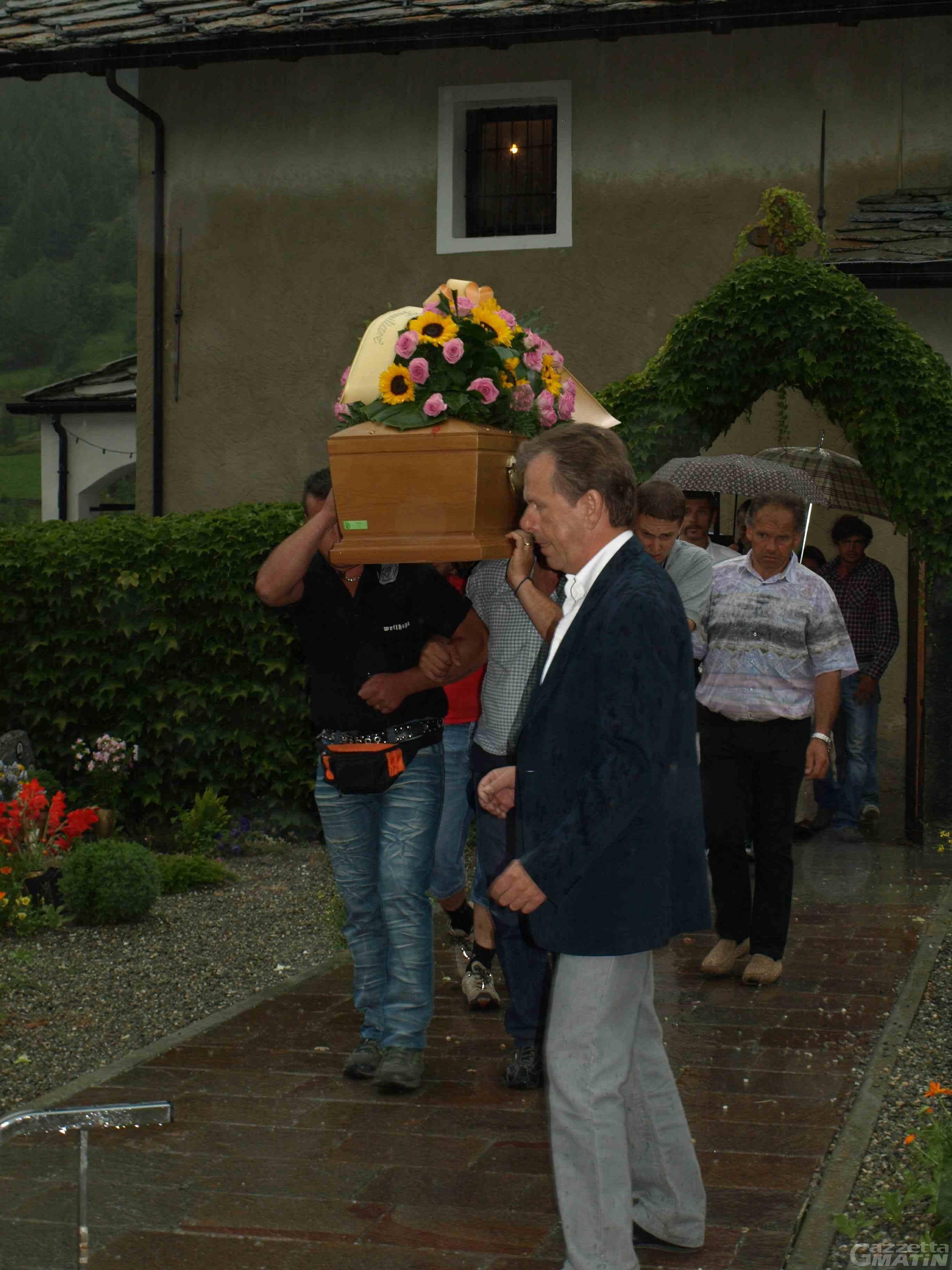 L'addio della Valpelline a Nicole Landry