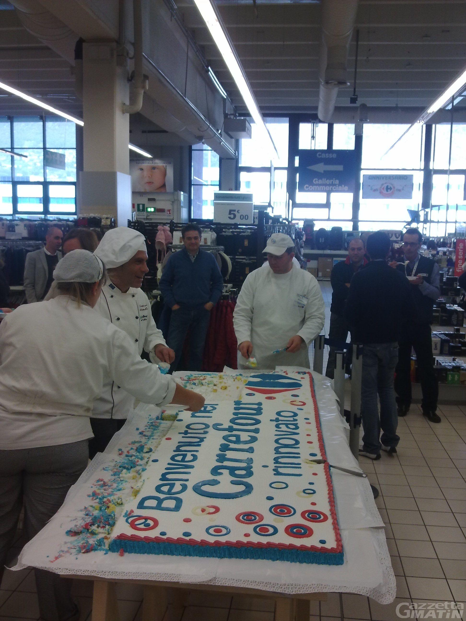 Il Carrefour di Pollein si rifà il trucco