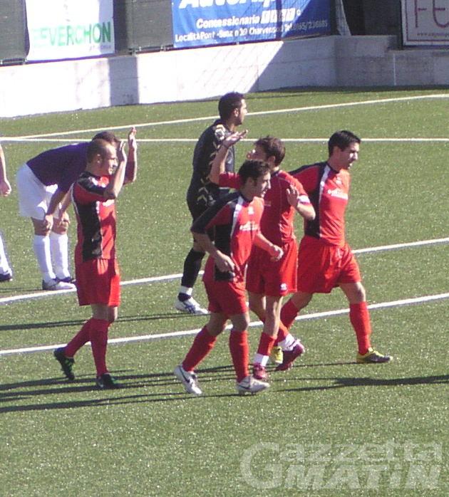 Calcio: Charva a valanga, cade il St-Chri VdA