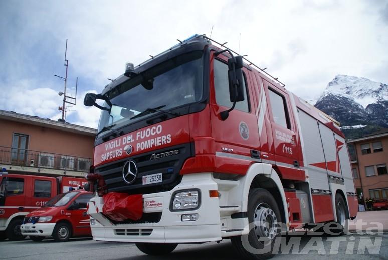 Aosta, Vigili del fuoco al voto per decidere se tornare statali