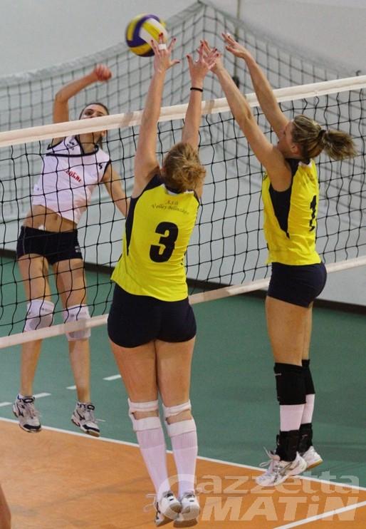 Volley: bene il Bruno Tex, la Cogne A.S. crolla a Caluso