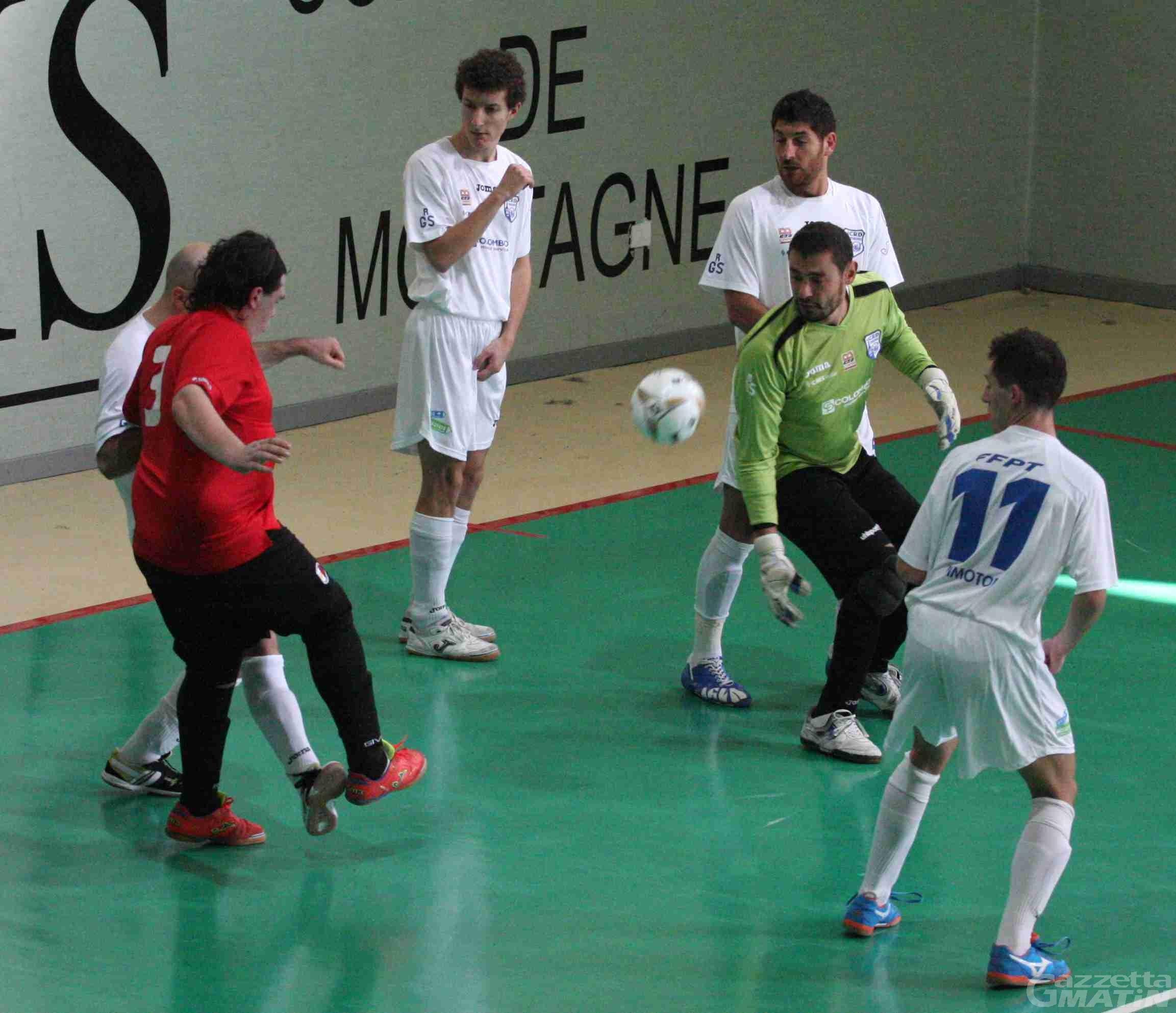 Calcio a 5: Bresso fa piangere Aosta e Aymavilles