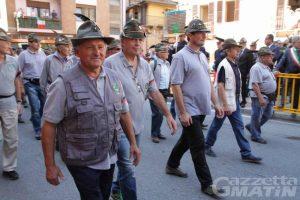 Le Penne Nere valdostane al 19º Raduno del Primo Raggruppamento a Susa (foto Stefano Meroni)