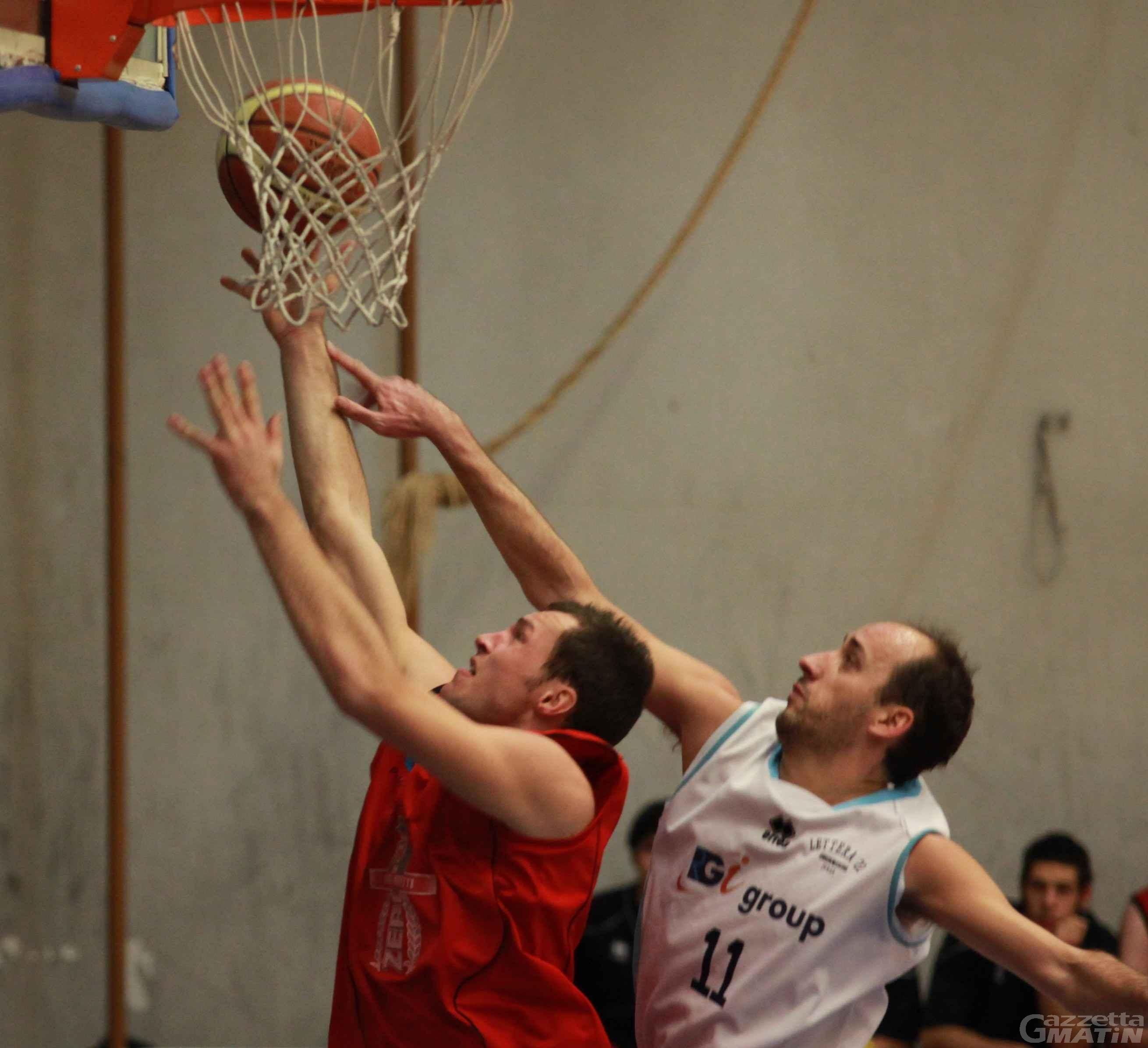 Basket: derby della Dora amaro per la Moretti Zero