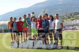 Gara di biathlon estivo a St-Christophe - Foto Asiva