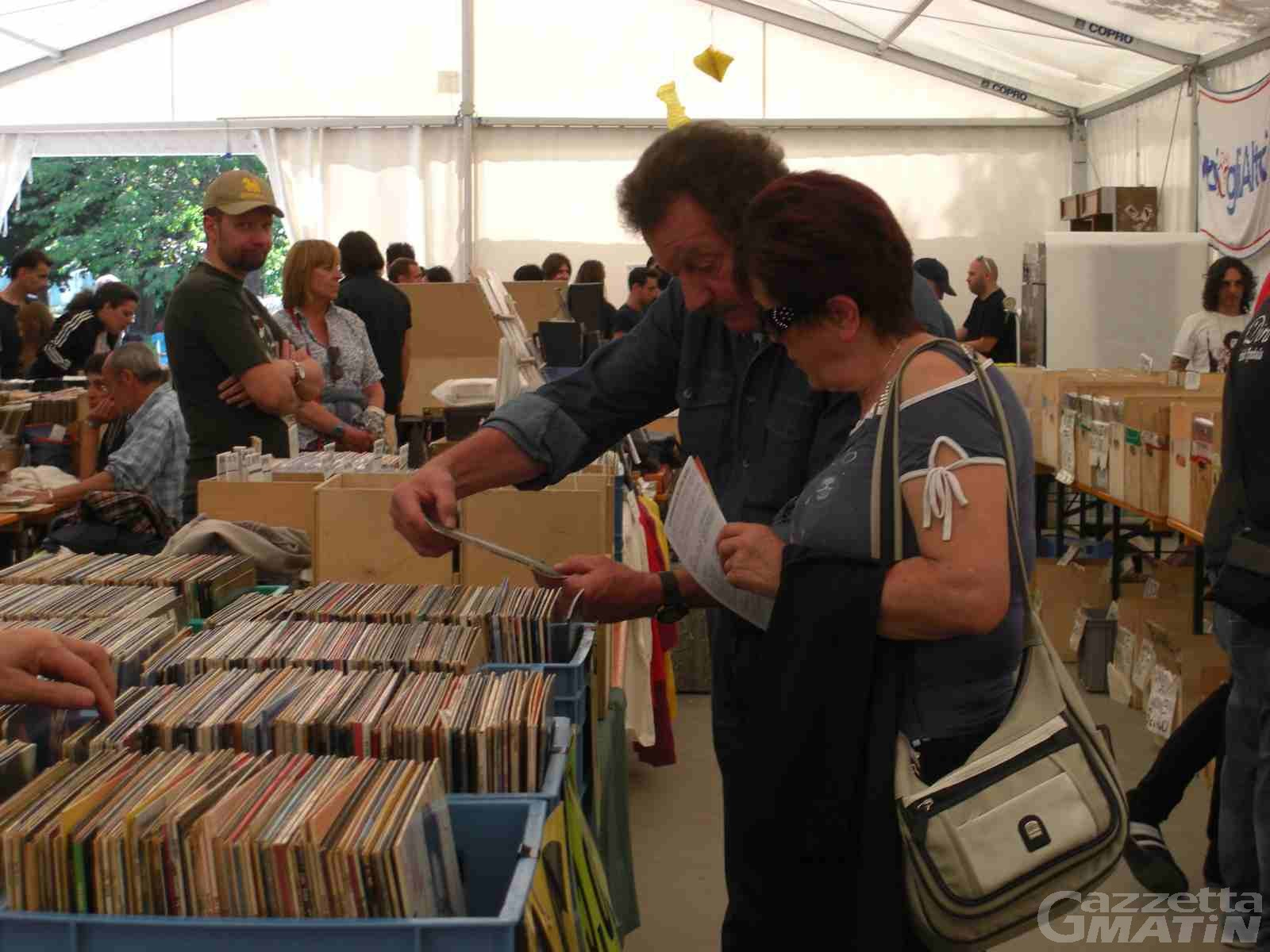 Musica, mostra mercato del vinile al Parc Chavonne