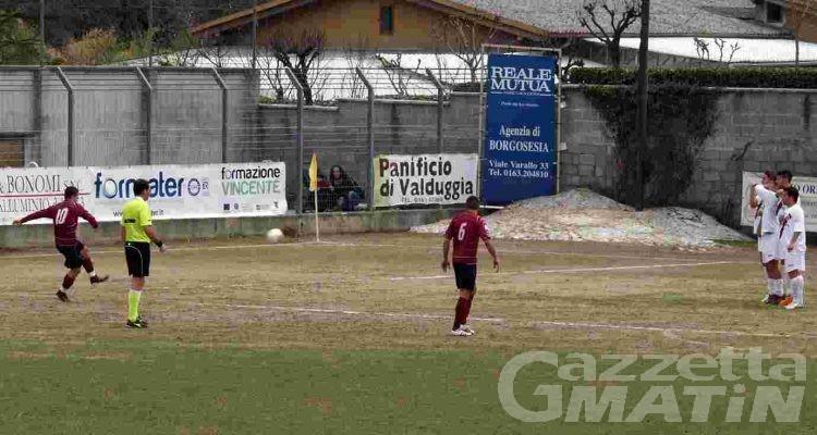 Calcio: imprese di St-Chri VdA e Charva