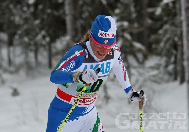 Fondo: Elisa Brocard miglior azzurra nel Tour de Ski
