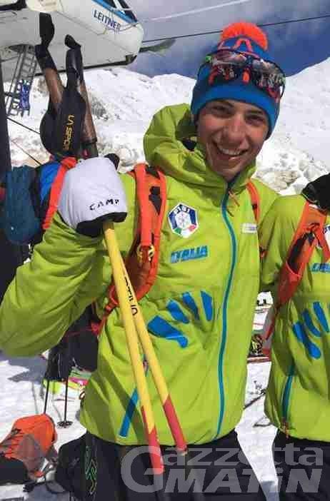 Skialp: Nadir Maguet argento mondiale in staffetta