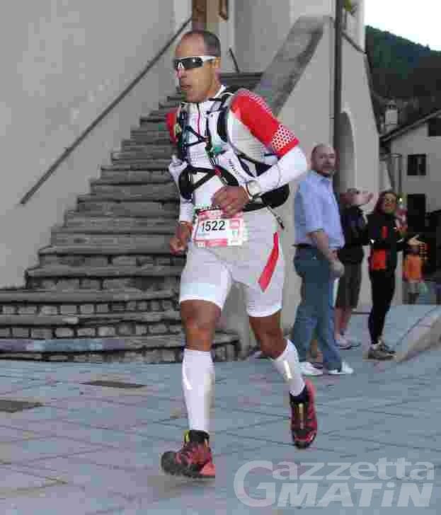 Niente UTMB per Giuliano Cavallo
