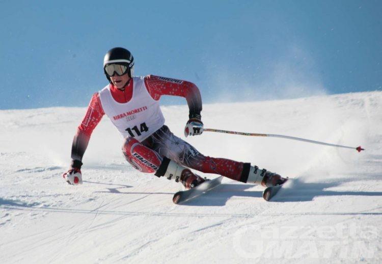 Sci alpino: la squadra Asiva allo Stelvio