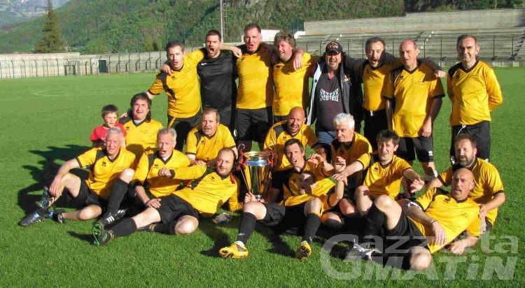 Calcio: il Sarre parte forte nel campionato Veterani