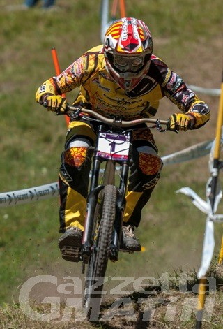 Downhill: assegnate a Frachey le maglie rossonere