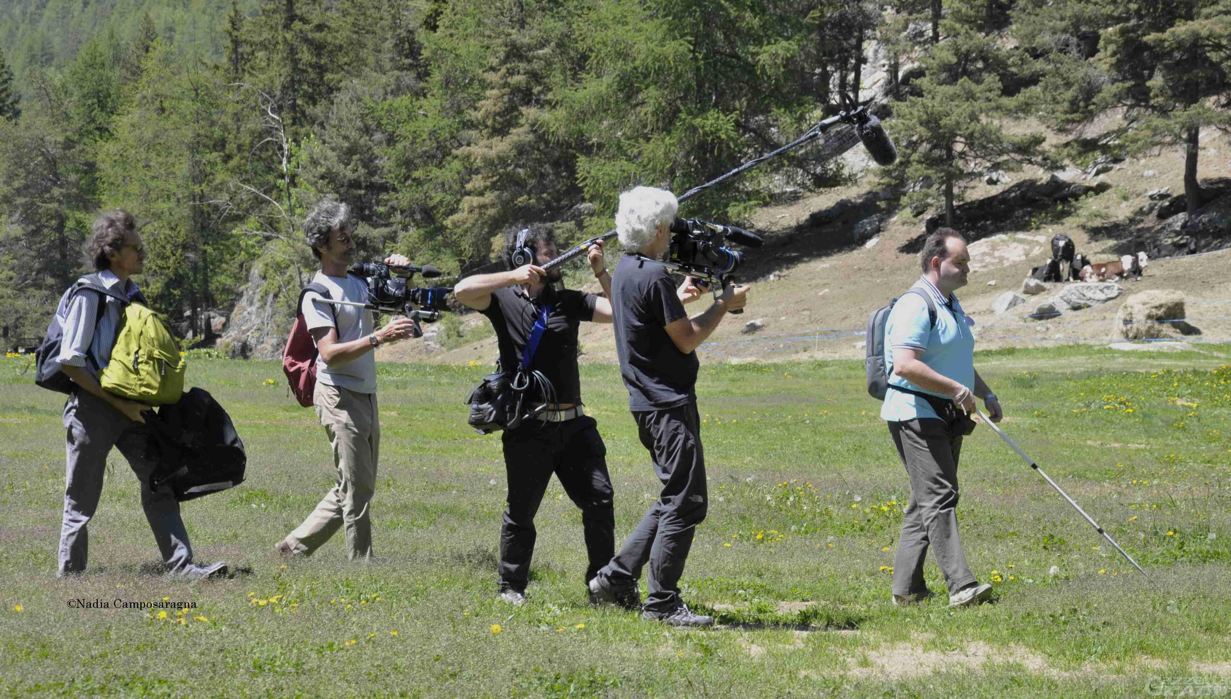 Cinema: Per altri occhi, Luca Casella attore per Silvio Soldini