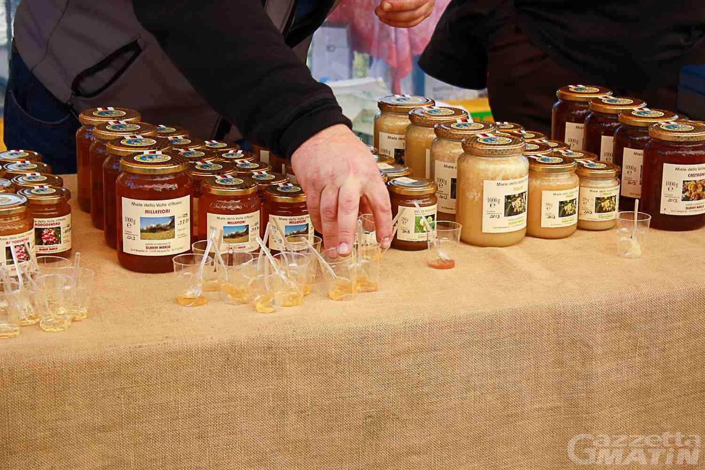 Châtillon, domani il clou della sagra del miele