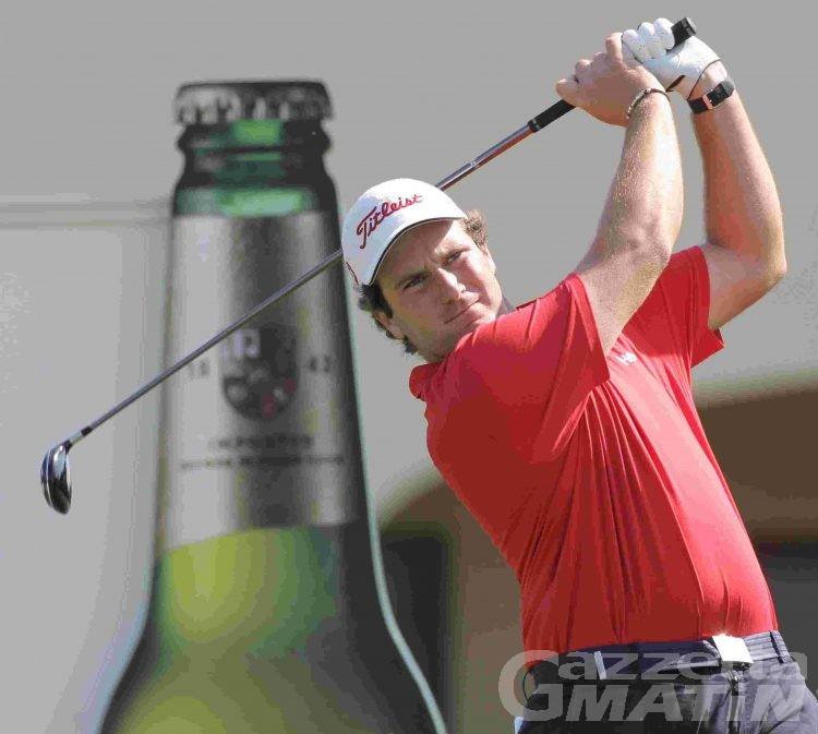 Golf: Quintarelli comanda il Valle d'Aosta Open