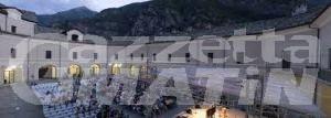 Musica: quattro spettacoli in una settimana al Forte di Bard