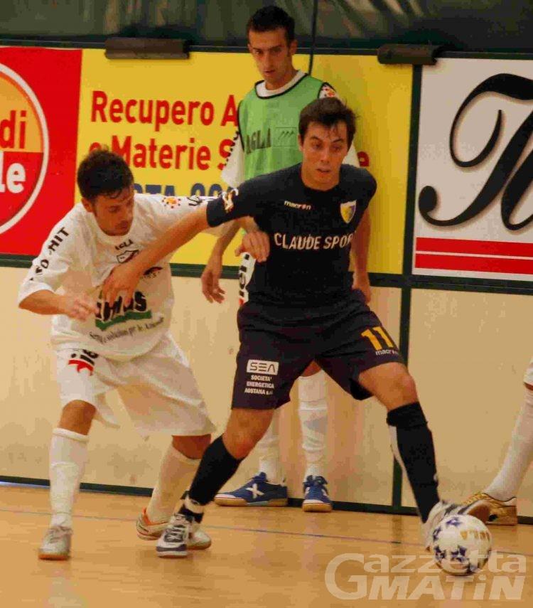 Calcio a 5: l'Aosta comincia con una sconfitta