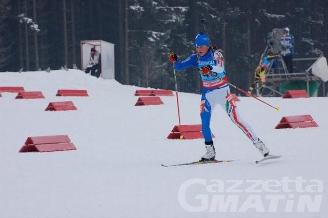 Biathlon: Nicole Gontier bronzo agli Europei