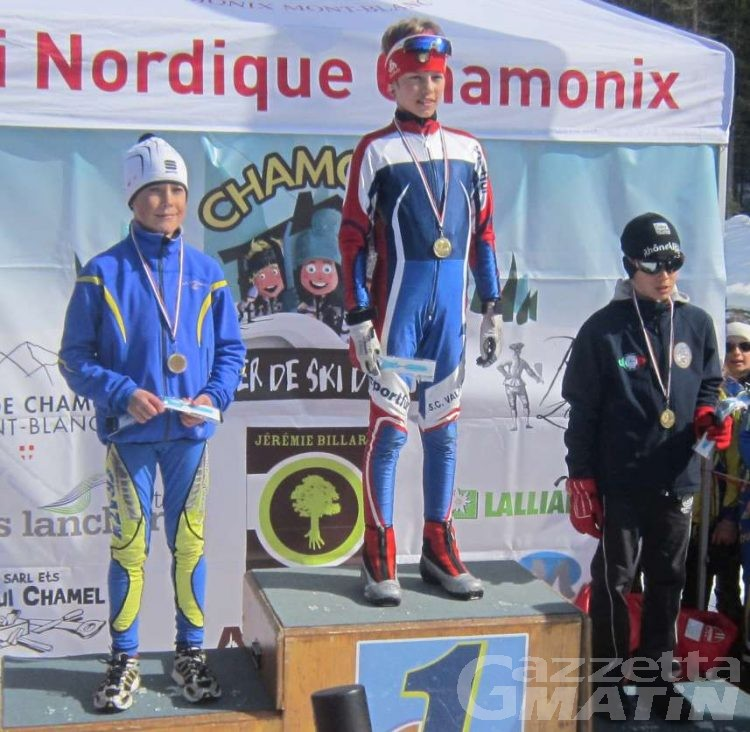 Fondo: i piccoli valdostani brillano a Chamonix