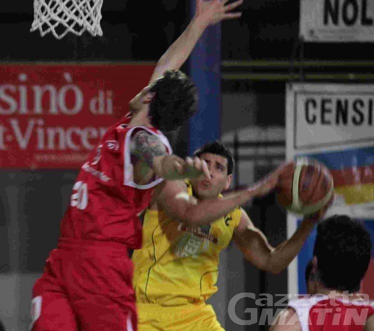 Basket: la Moretti centra il tris, lo Chez Drink cola a picco