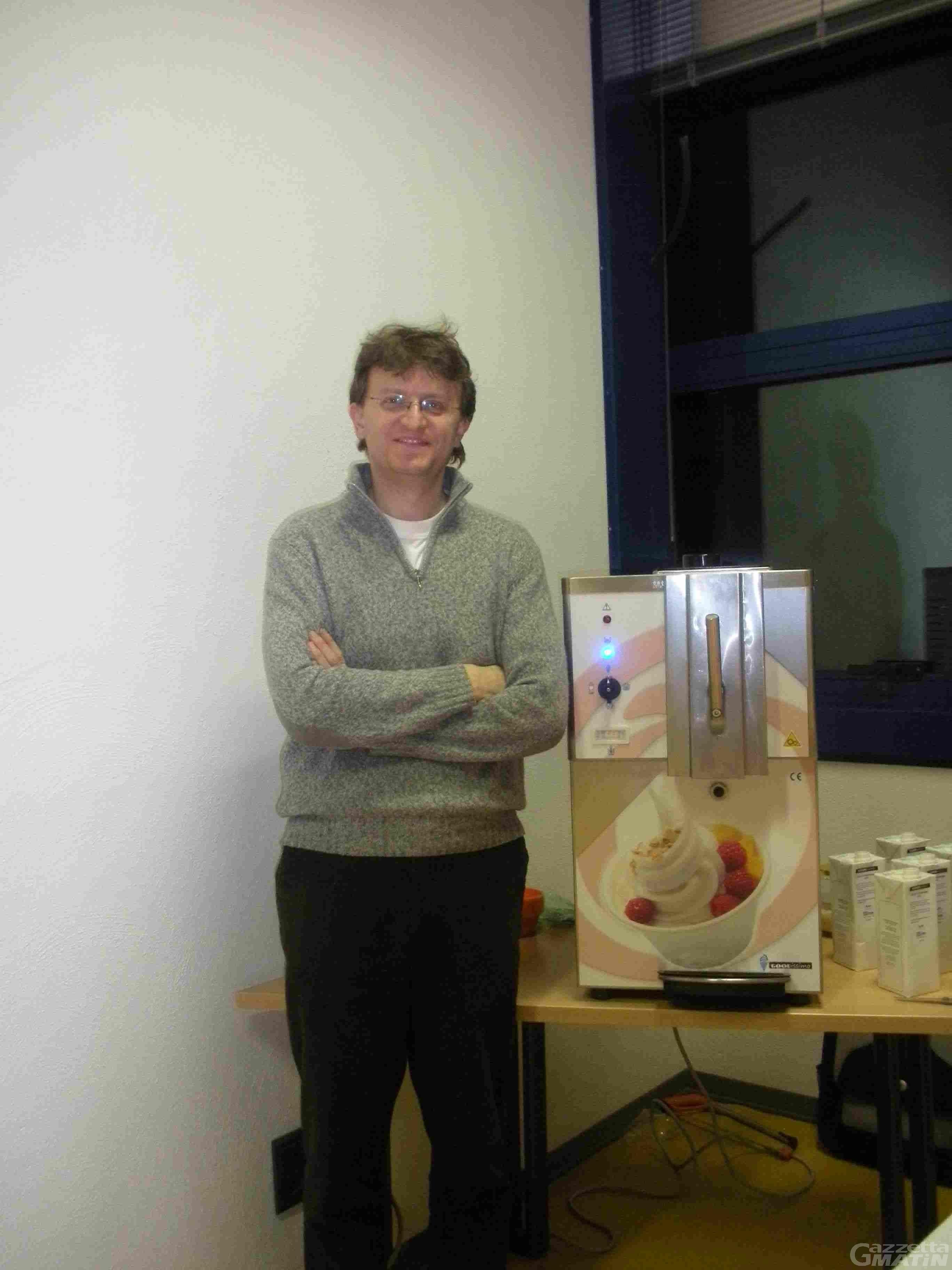 Innovazione, in arrivo una macchina del gelato espresso