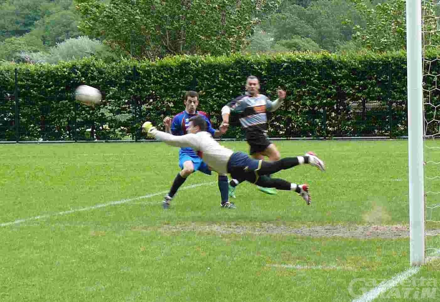 Calcio: l'Aygreville agguanta i play off