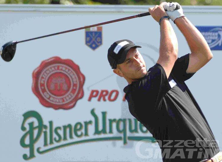 Golf: i professionisti in gara a Cervinia