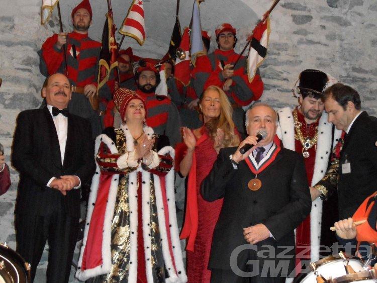 Verrès: Clara Calabrese e Arduino Rolland sono i conti di Challant della 64ª edizione del Carnevale storico