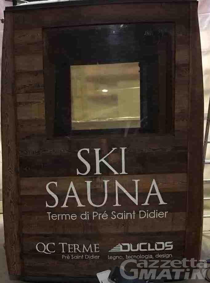 La Thuile inaugura la Ski Sauna