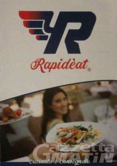 Rapideat, il delivery food sbarca anche in Valle
