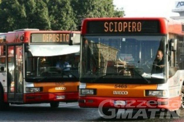 Lunedì sciopero del trasporto pubblico locale anche in Valle d'Aosta