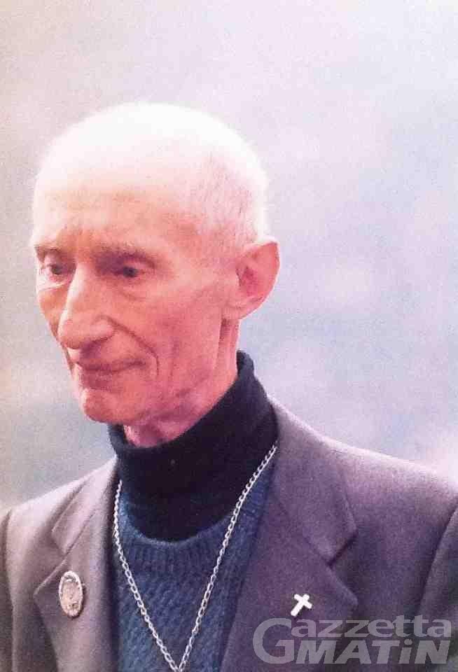 Courmayeur, la medaglia di Giusto delle Nazioni a don Cirillo Perron